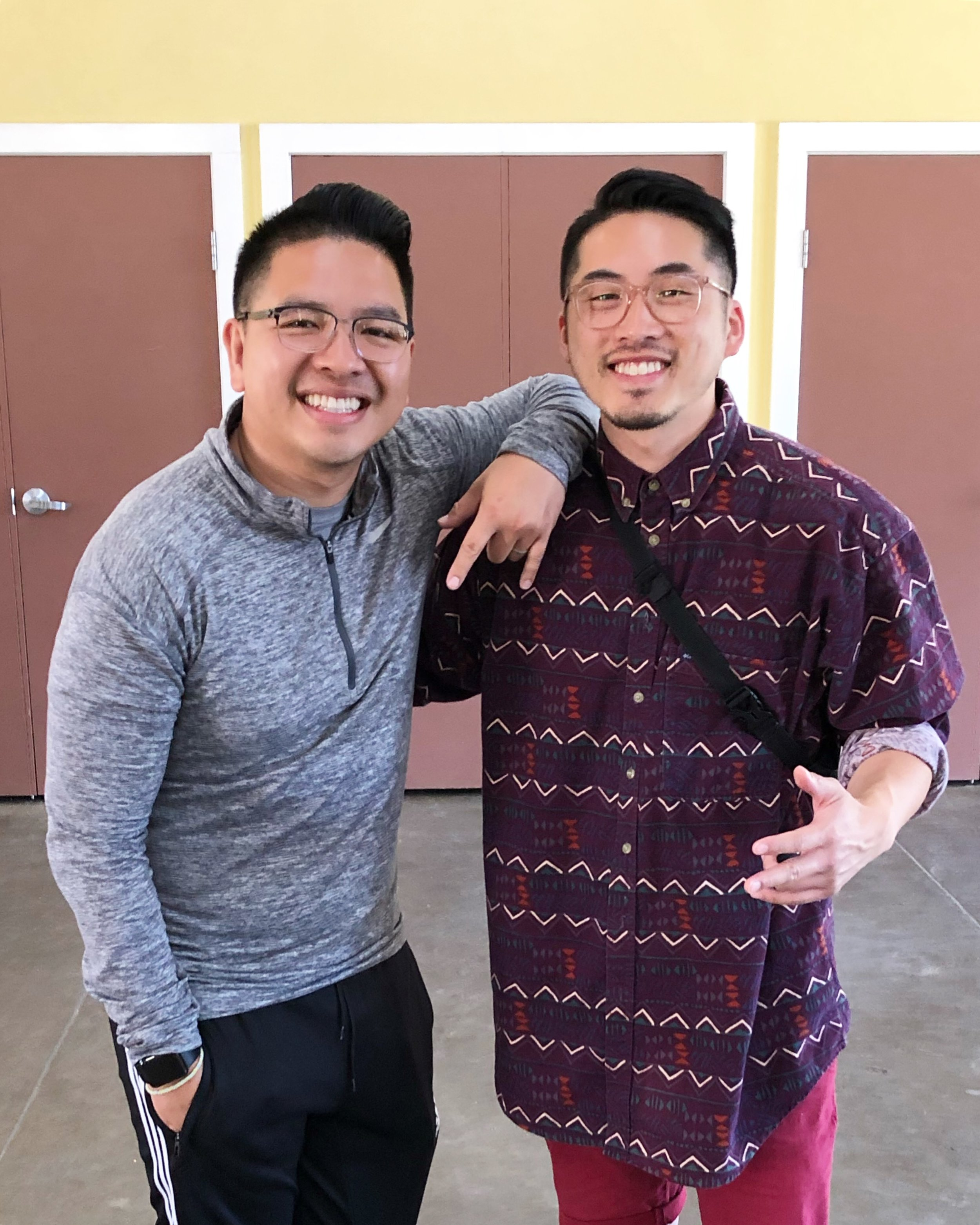 Co-Camp Directors, Quoc Du, NP at Stanford Lucile Packard Children's Hospital and Andy A. Nguyen, NP at UCSF Benioff Children's Hospital Oakland. Jul 19, 2019, Livermore, Calif.
