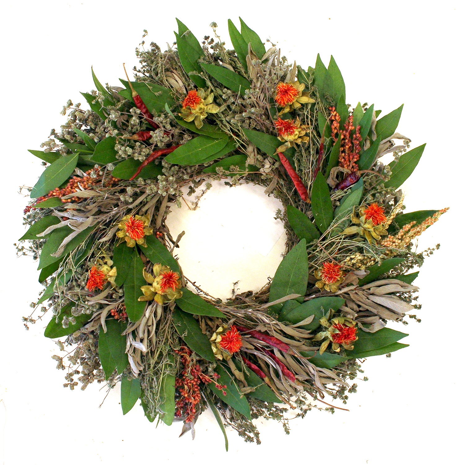 SAFFLOWER WREATH ~CLICK TO PURCHASE