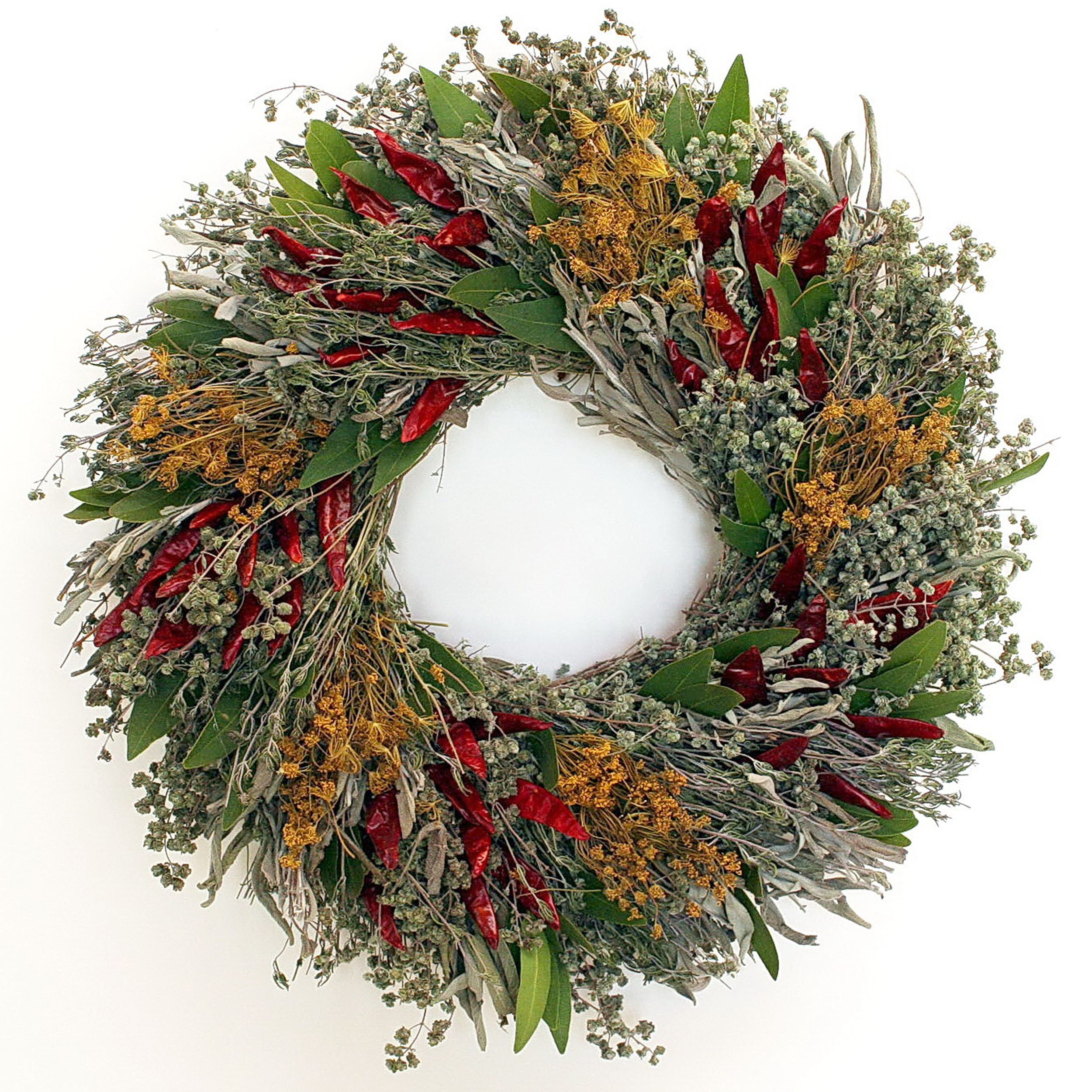 CHILI WREATH ~CLICK HERE TO PURCHASE