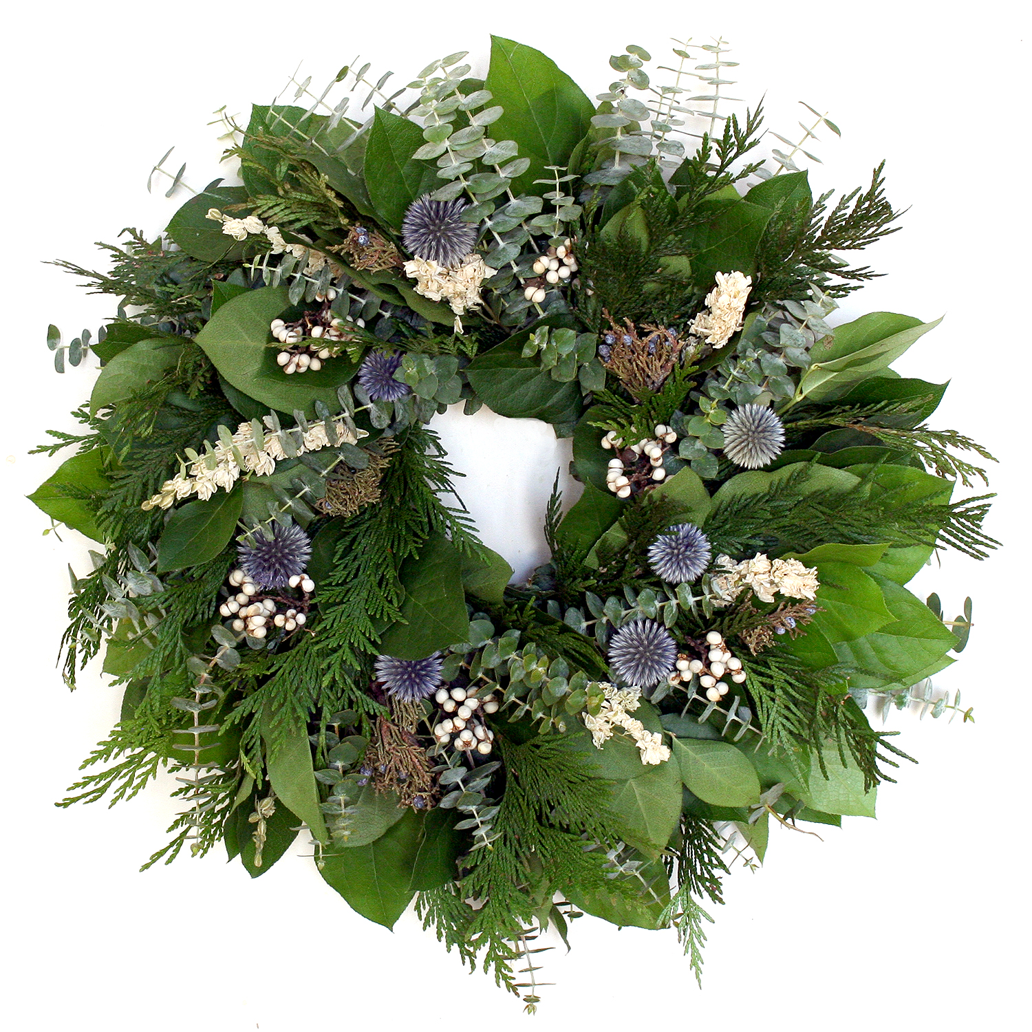WINTER BERRY WREATH~CLICK TO PURCHASE