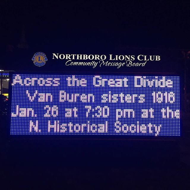 Our very own BVB gave a great presentation on the #vanburensisters at the Northborough Historical Society last night.  #womencanifshewill  #BVB #BVBMVP #northboroughma #northborough #northboroma #indianmotorcycle #womenwhoride #womenwhoridemotorcycles