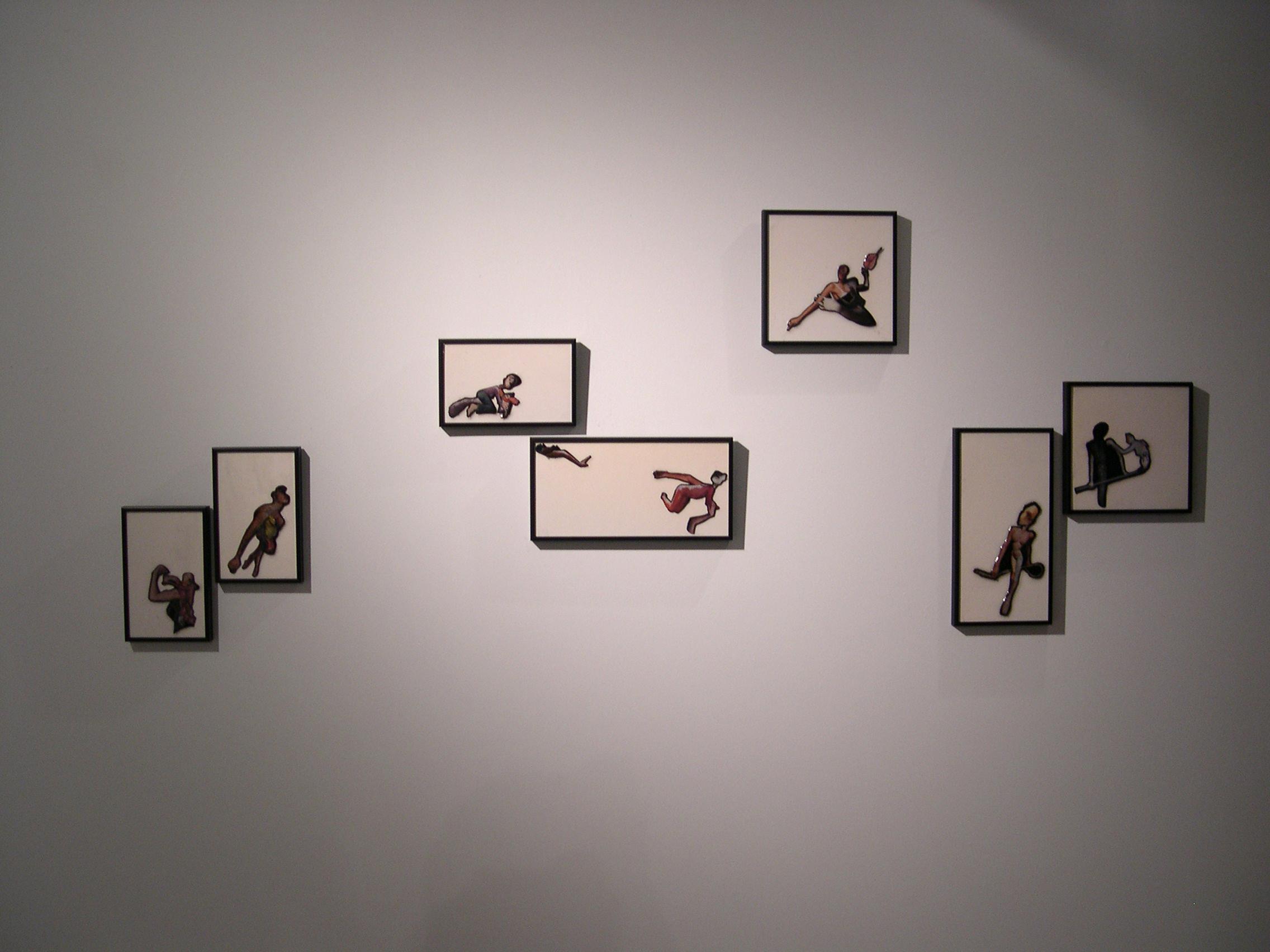 Installation View - Black Sereis
