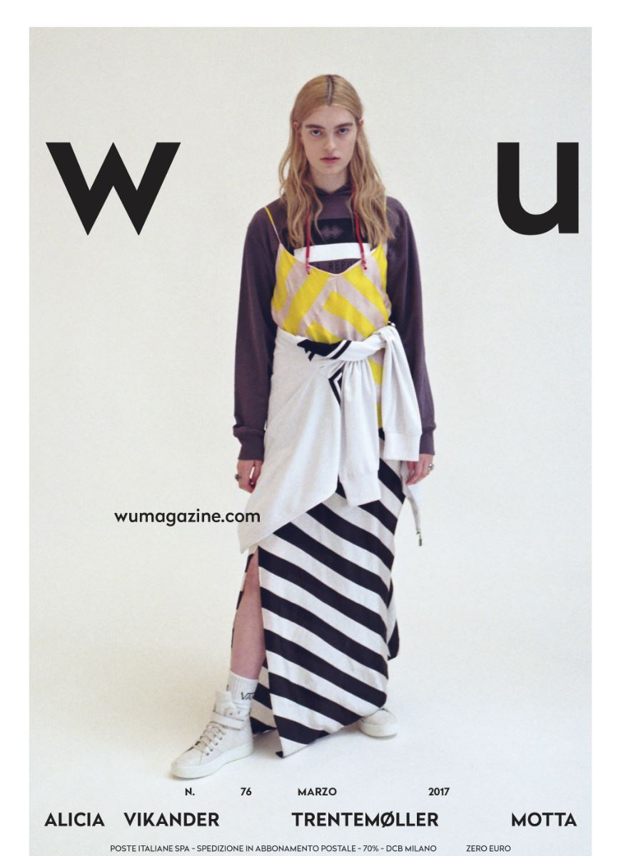 WU Magazine cover + editorial