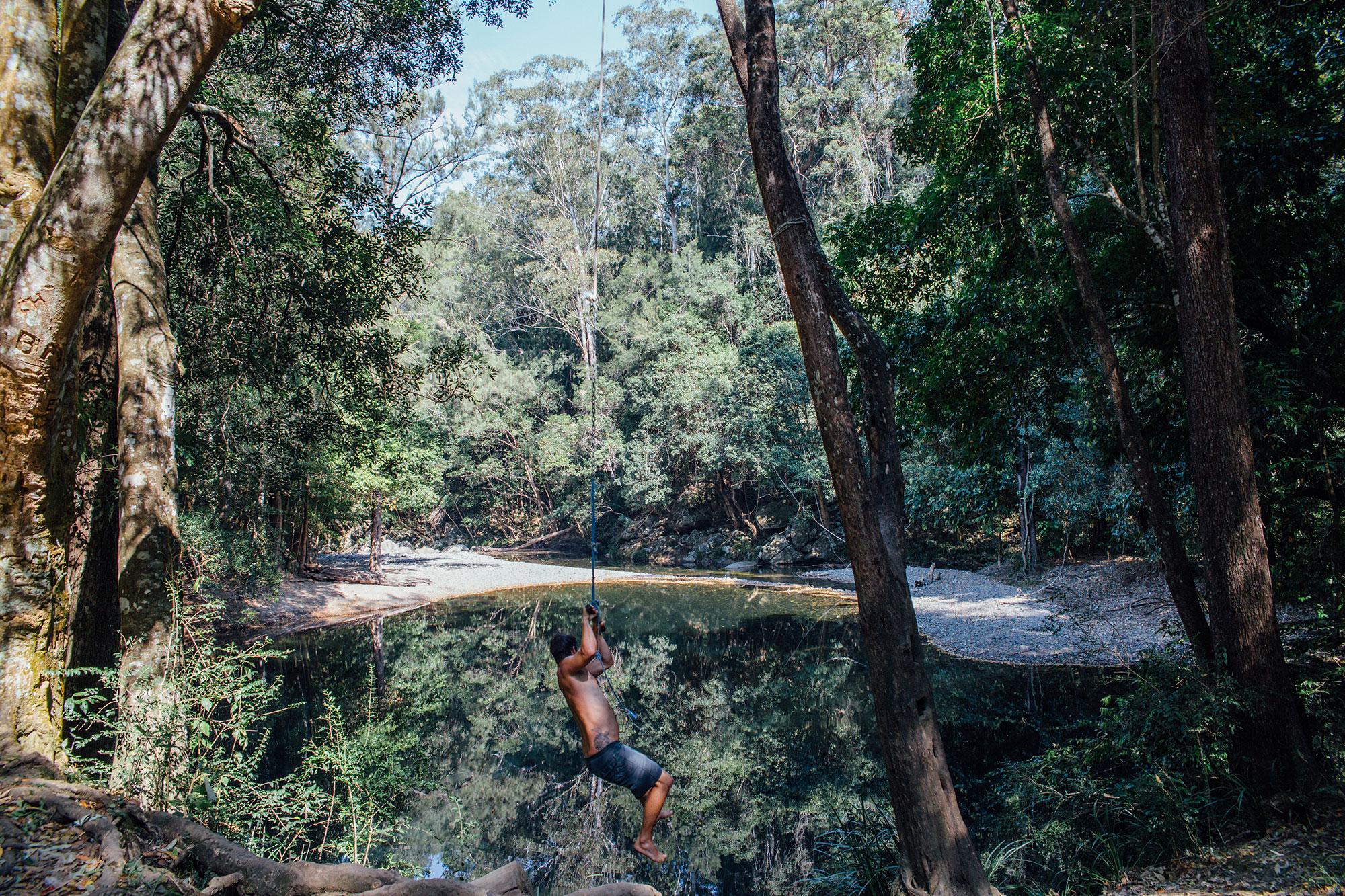 Never Never Creek, Bellingen NSW
