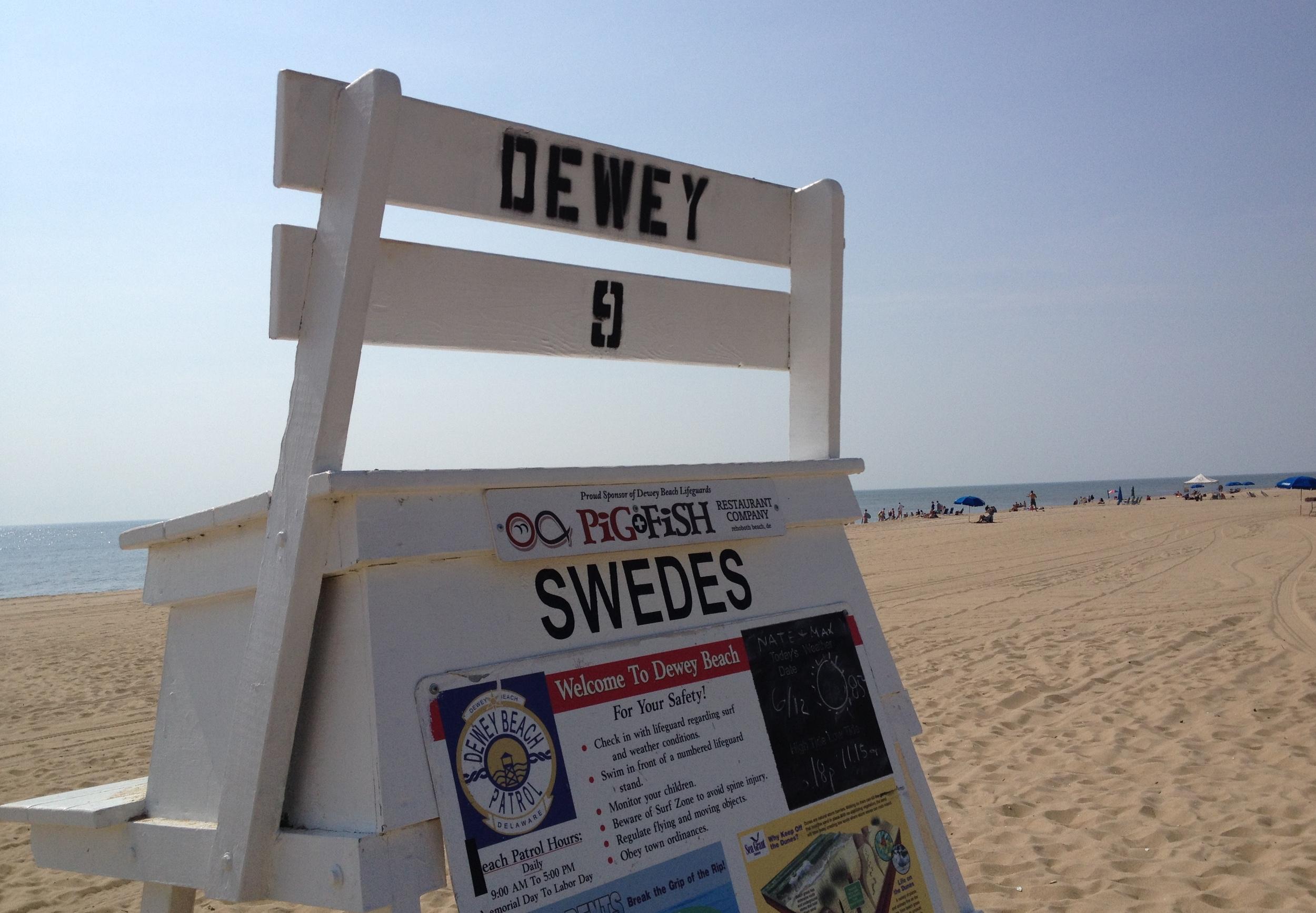 Swedes Street Beach