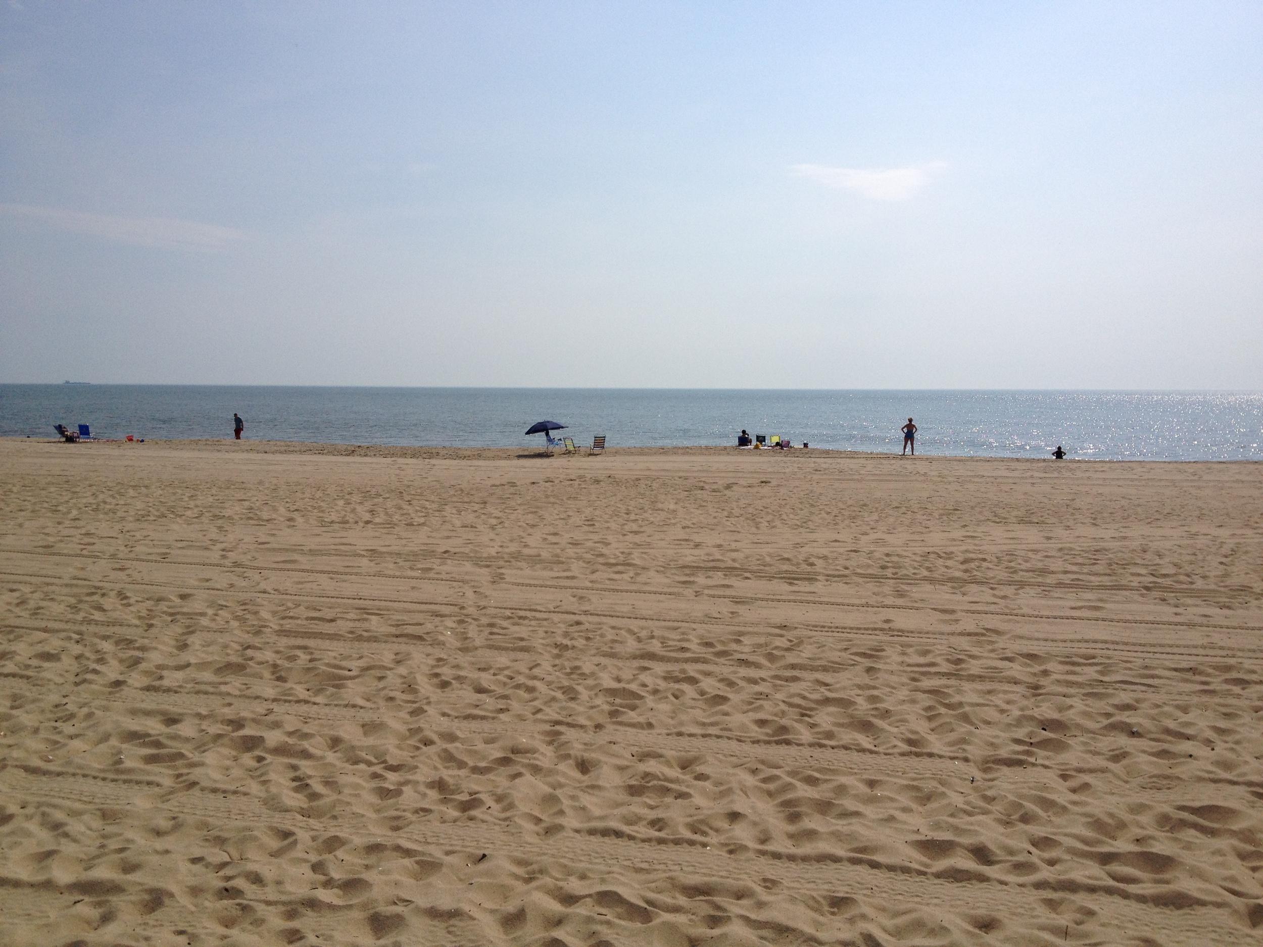 Beach Just 2 Blocks Away