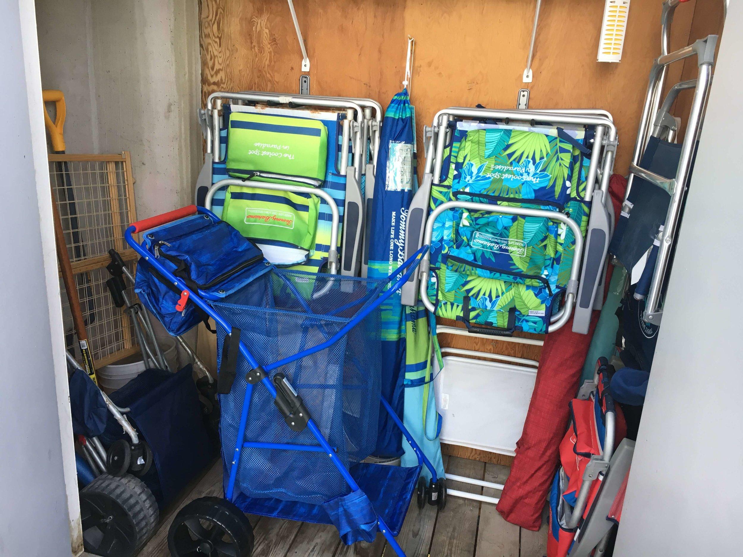 We supply all the beach gear!