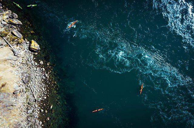 Kayaks near Deception Pass