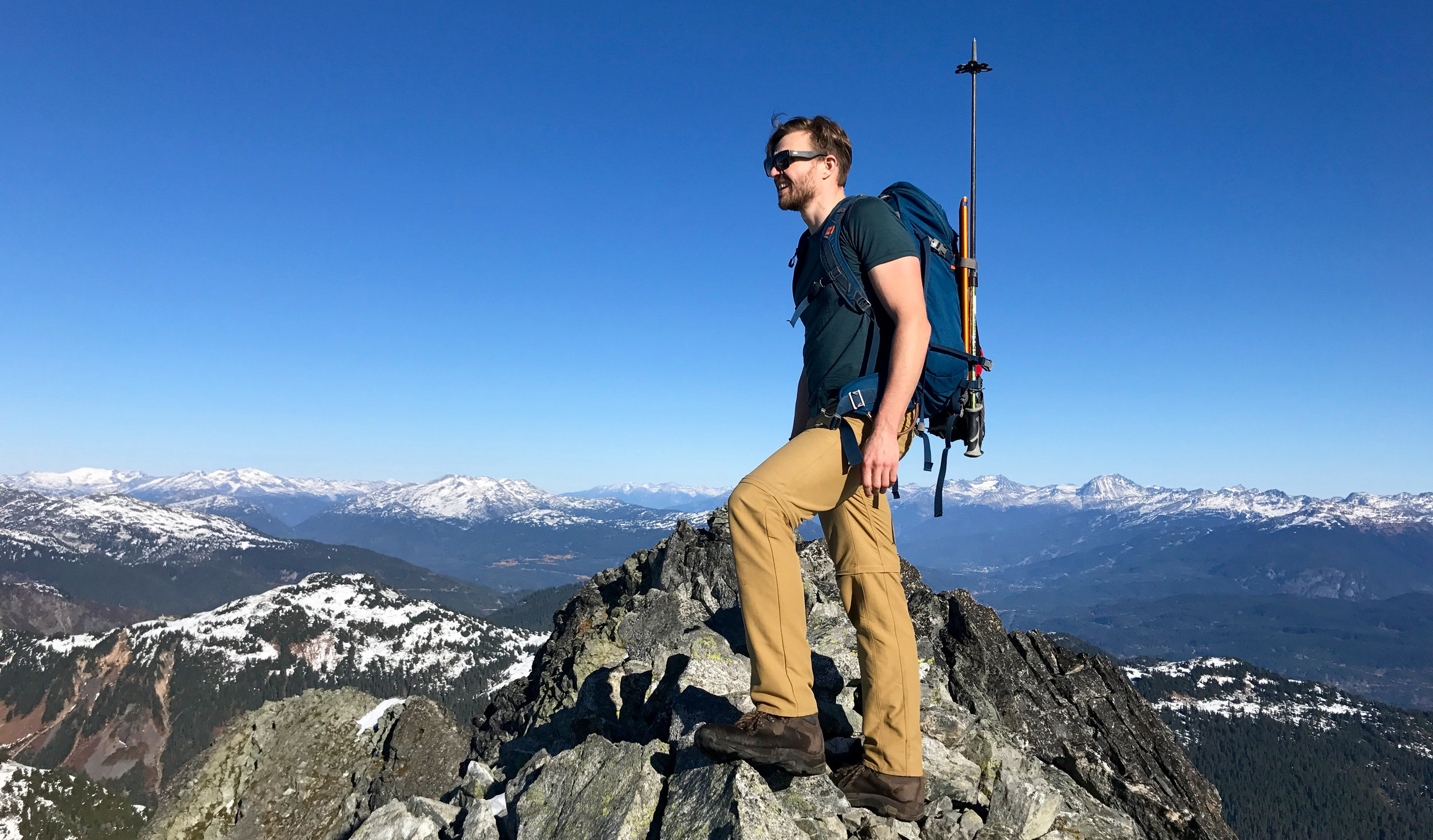 Ty on the summit - what a legend. Also a great  chiropractor in Vancouver !