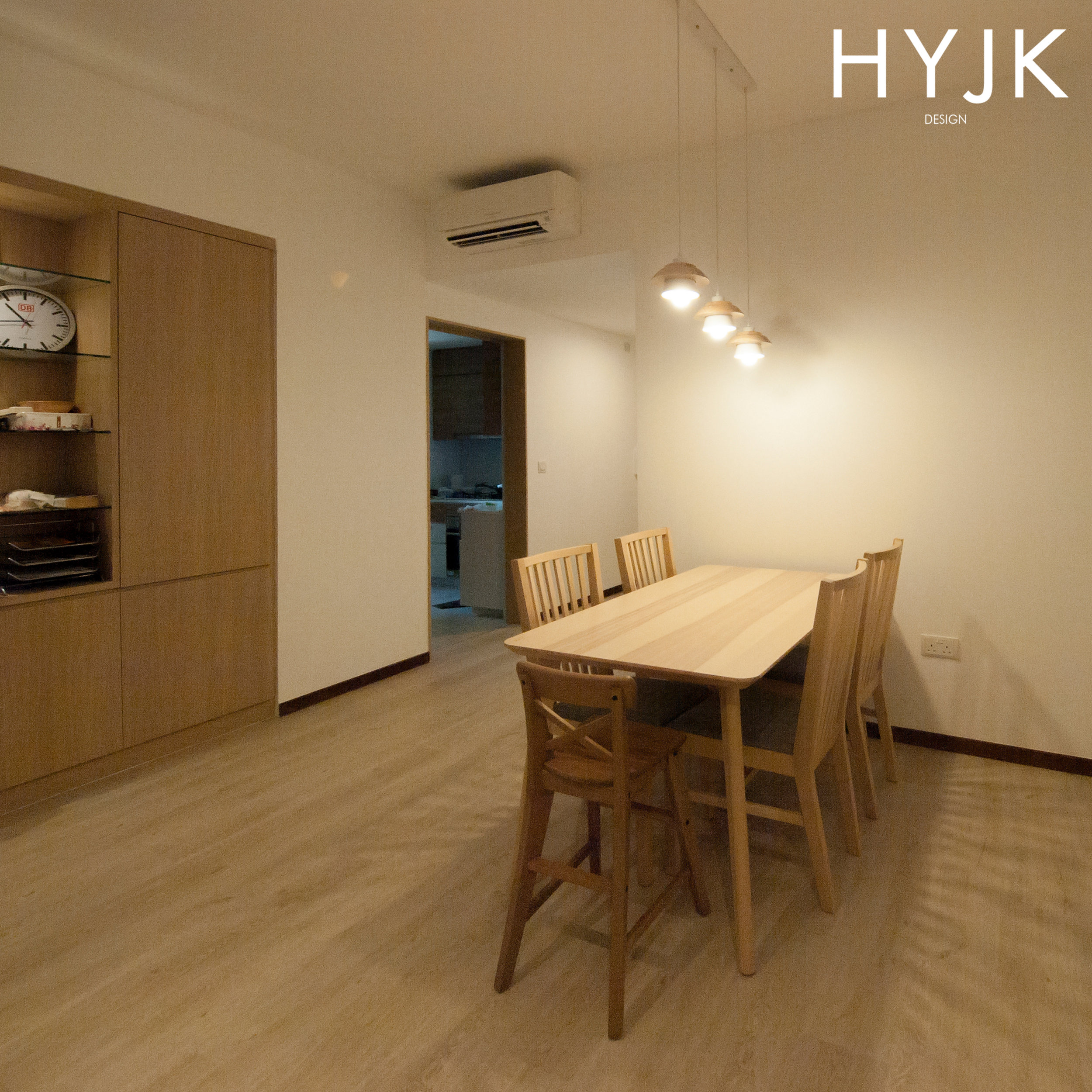 Clean and simple dining set.