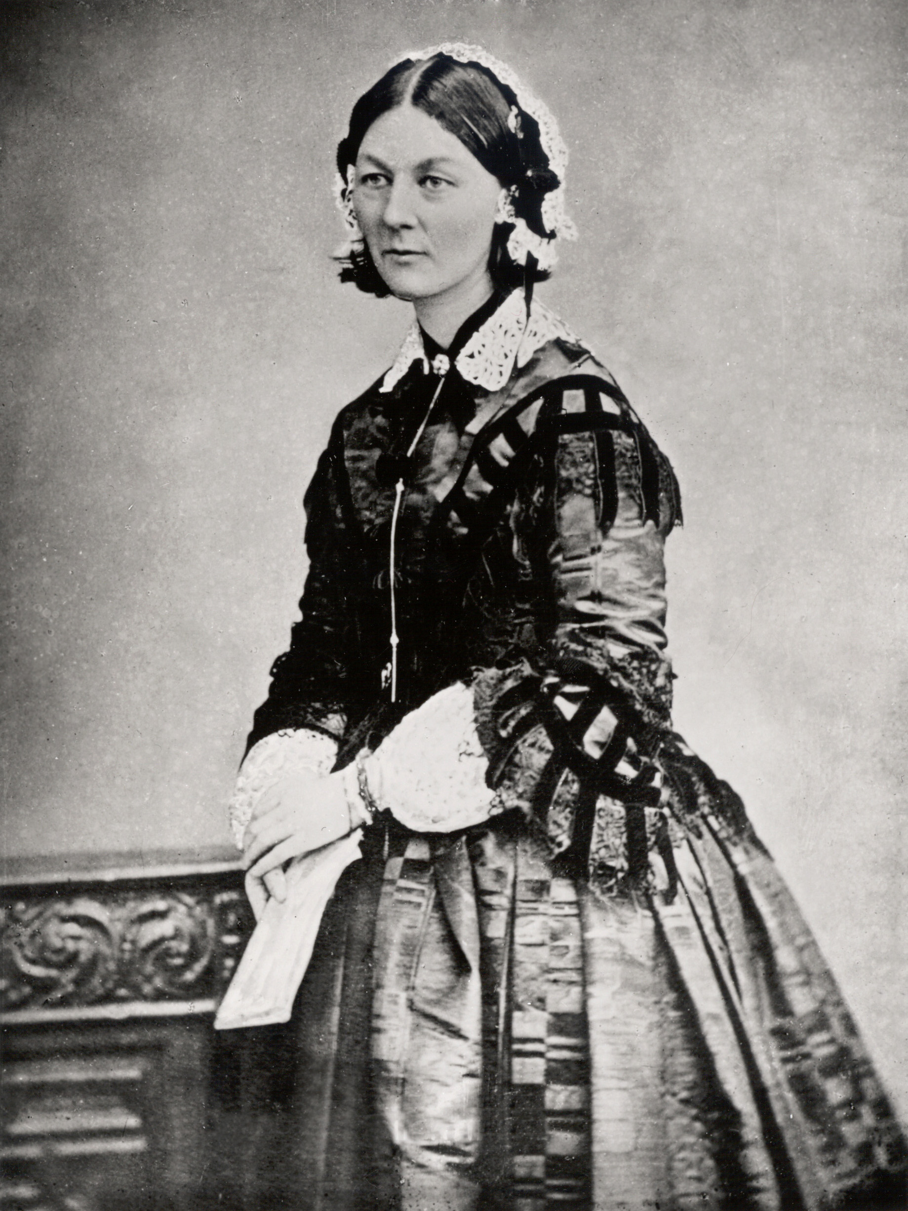 Florence Nightingale, around 1860.