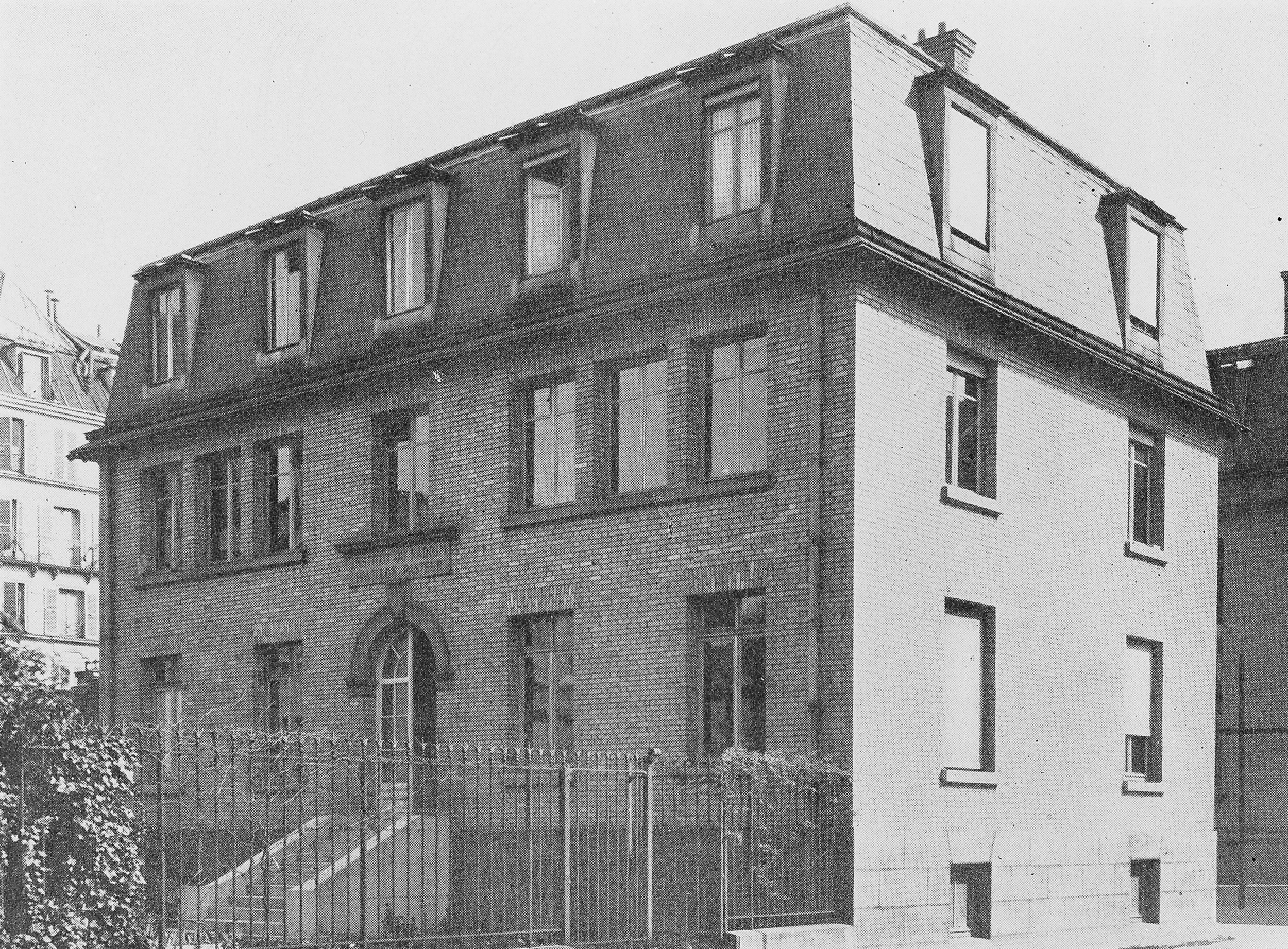 The Radium Institute--home to the research of both Marie Curie and Irène Joliot-Curie...and the dozen or so women who worked with them, including Marguerite Perey (Image courtesy of The Radium Institute, Paris).