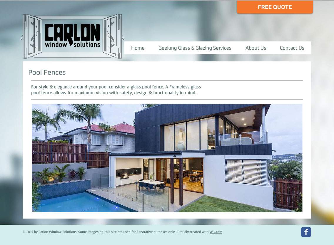 Carlon Window Solutions Website 2