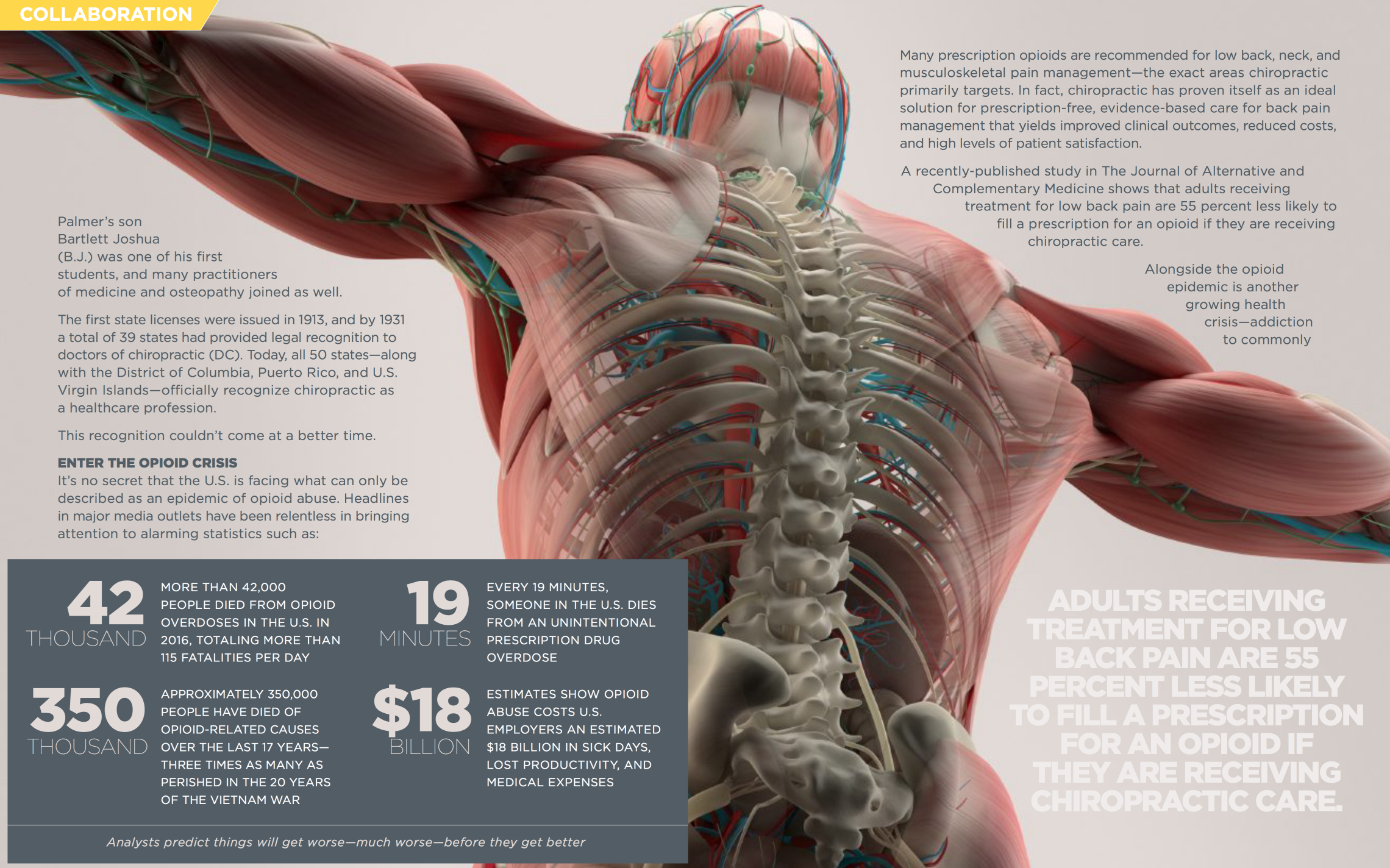 The opioid epidemic is a serious problem and we are proud to be a part of the solution. Before you turn to pain medication, find out if  Neuro-Structural chiropractic  can help you.