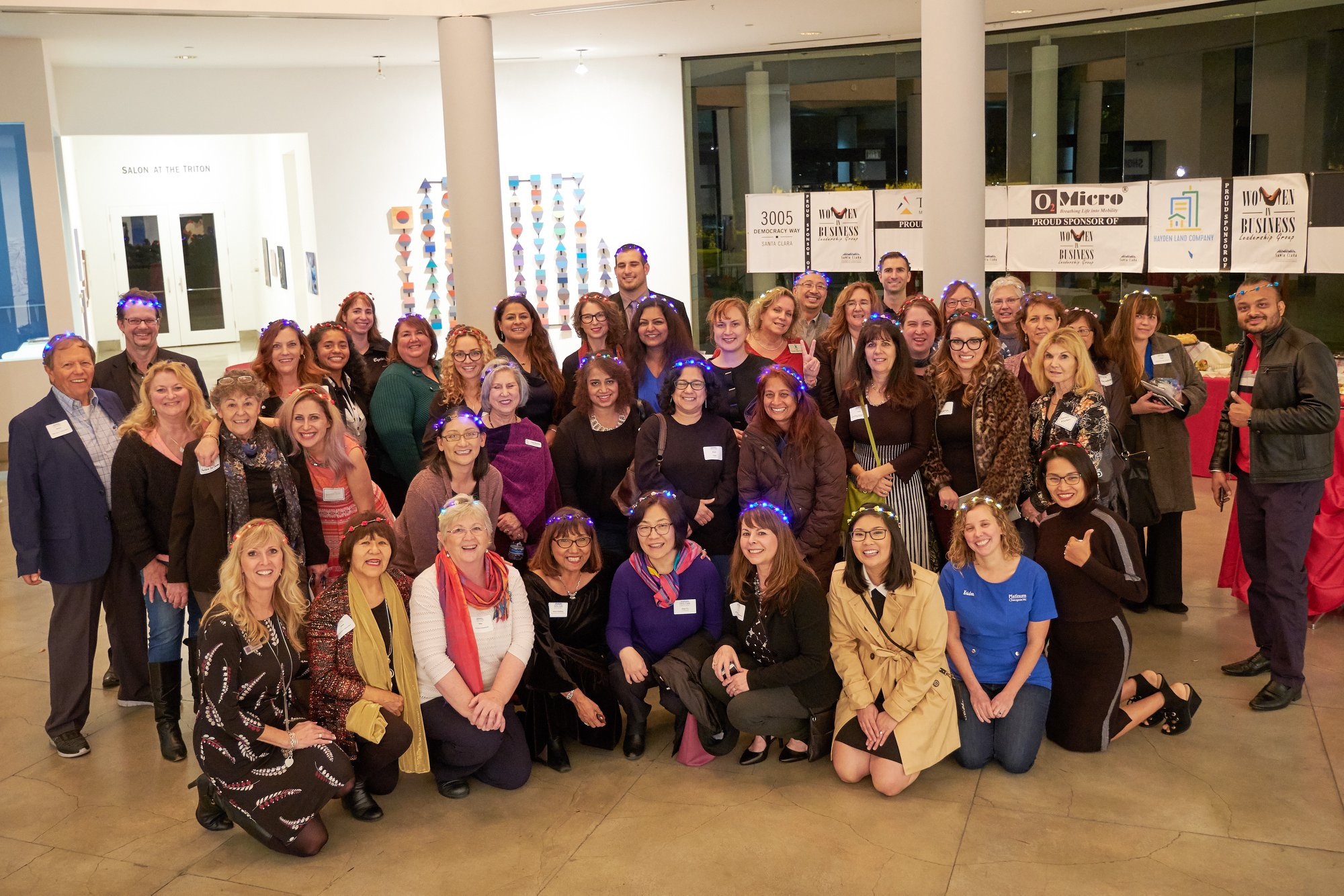 """""""The Glitter, Give and Grow"""" event benefiting """"Dress for Success"""" was a great success. Thank you to the Santa Clara Chamber of Commerce Women in Business Leadership group for putting the event together and to the Platinum Family for your support and donations."""