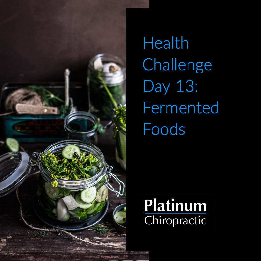 Platinum Health Challenge Day 13: Eat Probiotic Foods
