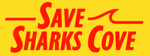 Save Sharks Cove logo red and yellow.png