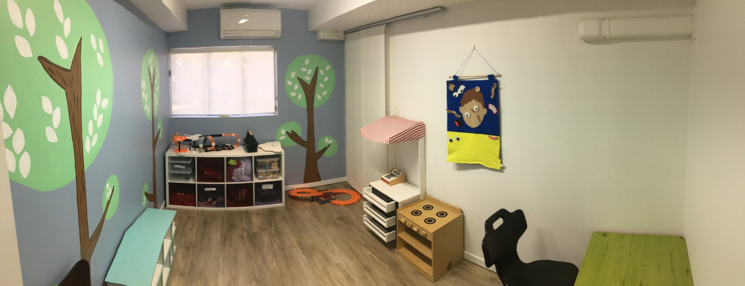 Noosaville SLP Therapy Room