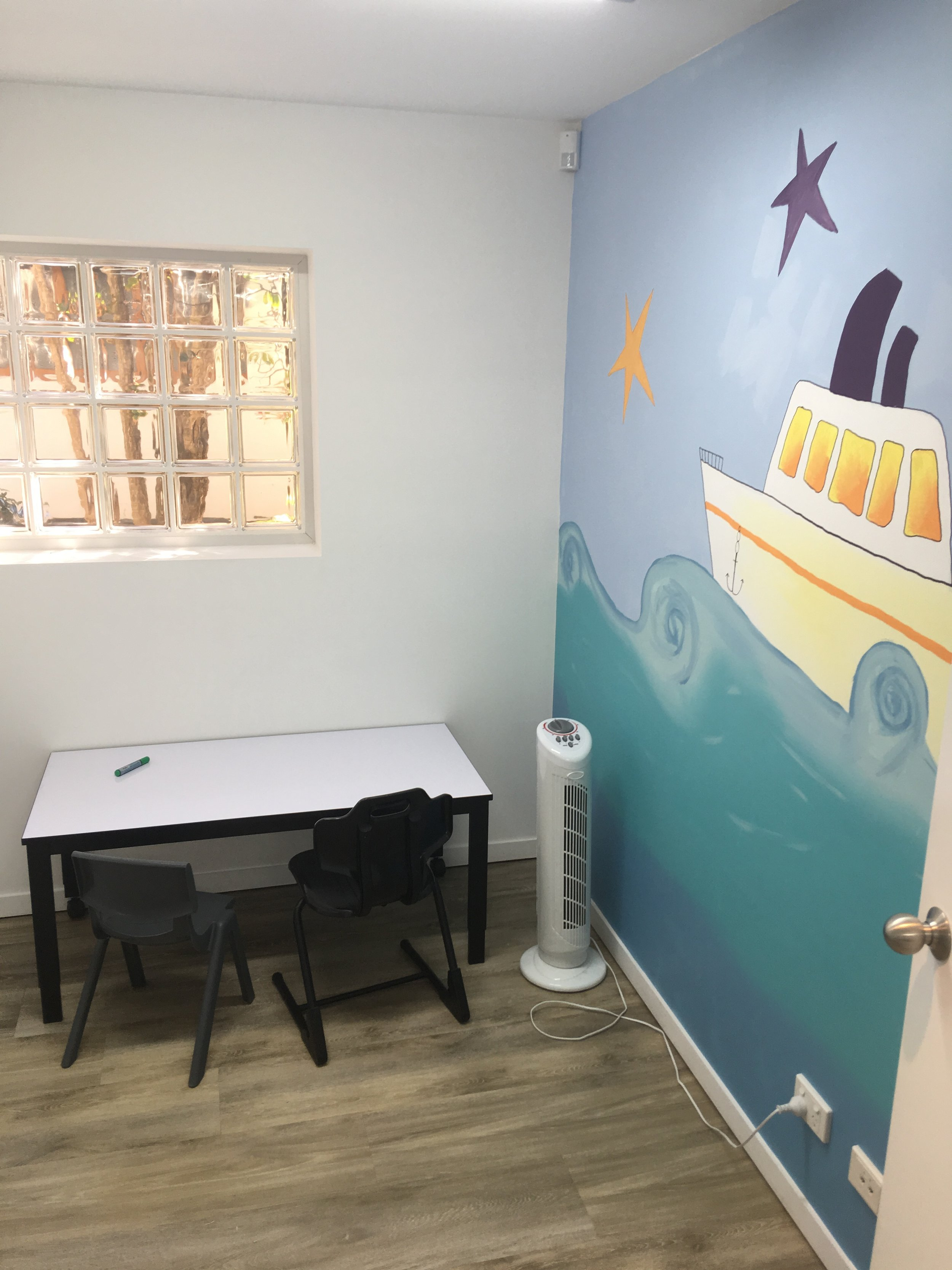 Noosaville Therapy room