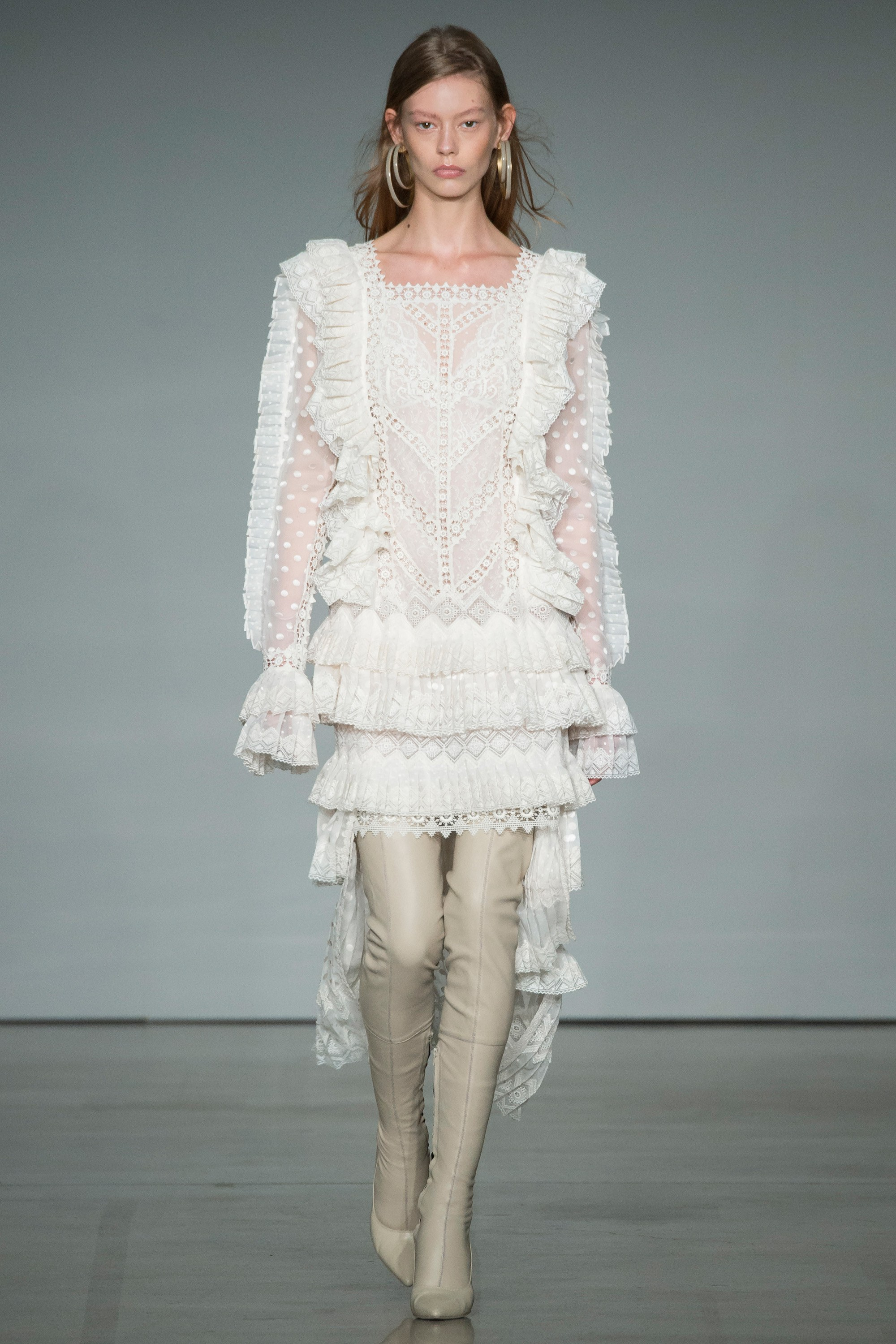 ZIMMERMANN -  loving the hailspot, ruffles and contrasting laces combined in this piece by one of my favourite home-grown labels