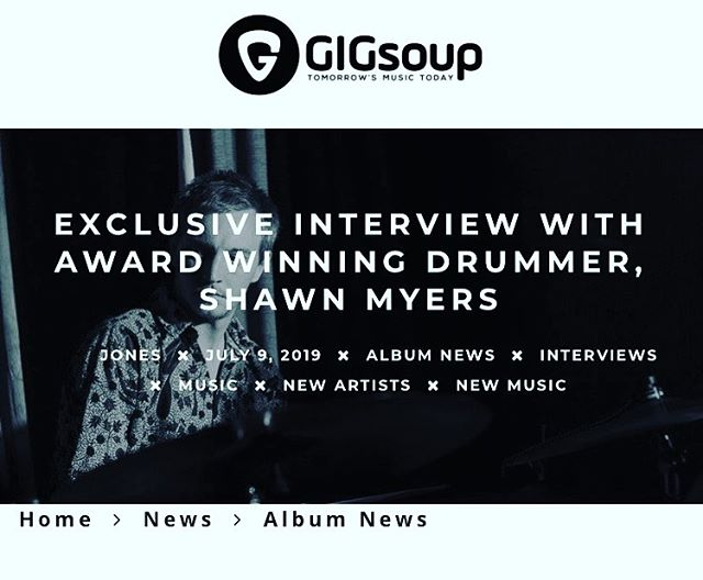 "Did a really fun interview with @gigsoup that they just put up on their website! Talking about my musical journey and the process of this debut album, ""The Silent Life""! If you go to gigsoupmusic.com it's currently on the homepage. Thankful for the reflection this interview has offered!  #music #interview #drum #drummer #story #storytelling #thought #thoughtprovoking #album #original #music #ocean #composer #gigsoup #exclusive #band #release #community #neworleans #scene"