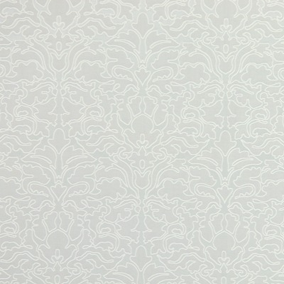 Claydon Silver  52% cotton/ 48% polyester  142cm | 33cm  Embroidery