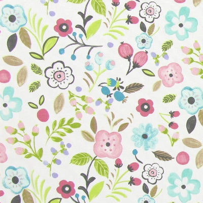 Sweet Briar Rose  100% cotton  137cm | 32cm  Curtaining