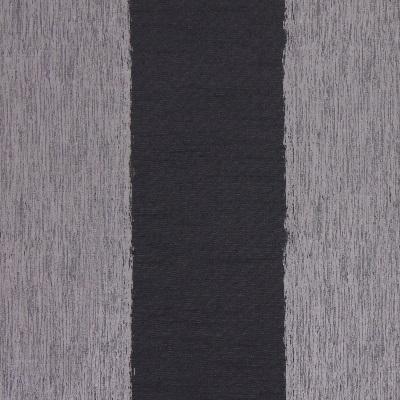 Capulet Graphite  58% polyester/ 42% cotton  140cm   Vertical Stripe  Curtaining