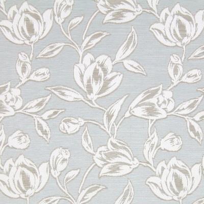 Hepburn Azure  58% polyester/ 42% cotton  140cm   25.4cm  Curtaining