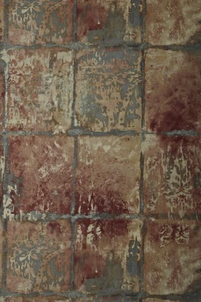 Ceramica Inca  100% paper  53cm wide   64cm repeat  Wallpaper