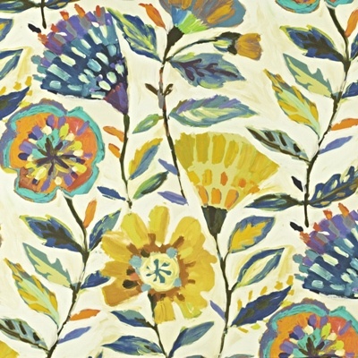Fandango Rainforest  59% linen/ 41% cotton  139cm wide | 120cm repeat  Dual Purpose