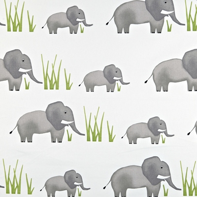 Jumbo Elephant  100% Cotton  137cm wide | 64cm  Curtaining