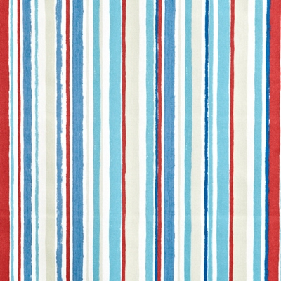 Zoom Marine  100% Cotton  137cm wide | Vertical Stripe  Curtaining