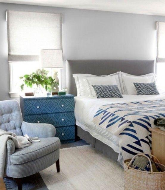 BLUE, WHITE & BEIGE DECORATING IDEAS — Stuart Graham Fabrics
