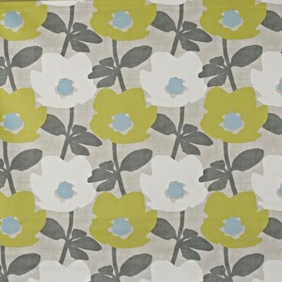 Bermondsey Fennel  100% Cotton  137cm wide | 32cm  Curtaining