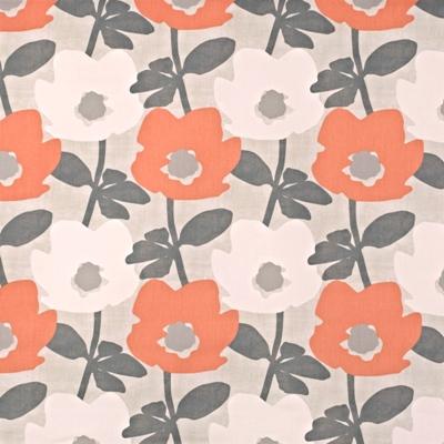 Bermondsey Mango  100% Cotton  137cm wide | 32cm  Curtaining