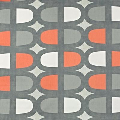 Docklands Mango  100% Cotton  137cm wide | 64cm  Curtaining