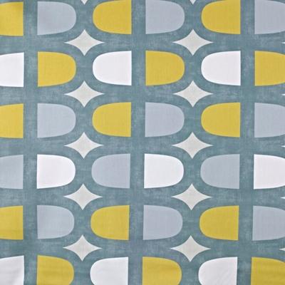 Docklands Saffron  100% Cotton  137cm wide | 64cm  Curtaining