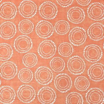 Embankment Mango  100% Cotton  137cm wide | 64cm  Curtaining