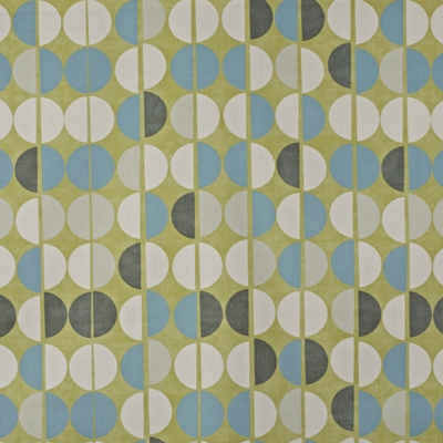Shoreditch Fennel  100% Cotton  137cm wide | 64cm  Curtaining
