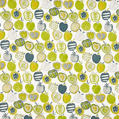 Apples Mojito  100% Cotton  140cm wide | 64cm  Curtaining & Accessories