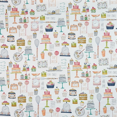 Eat Cake Marmalade  100% Cotton  140cm wide | 64cm  Curtaining & Accessories
