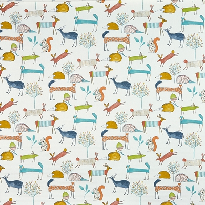 Oh My Deer Marmalade  100% Cotton   140cm wide | 64cm  Curtaining & Accessories