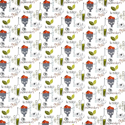Pomodori Tutti Frutti  100% Cotton  140cm wide | 32cm  Curtaining & Accessories