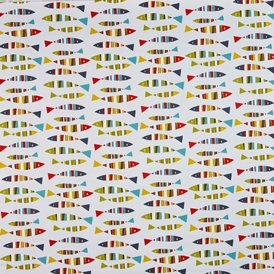 Sardines Tutti Frutti  100% Cotton  140cm wide | 32cm  Curtaining & Accessories