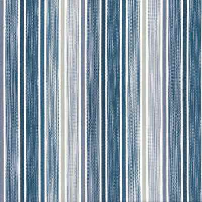 Loiret Indigo  100% Cotton  Approx, 140cm | Vertical Stripe  Dual Purpose 35,000 Rubs