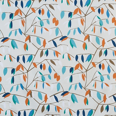 Coco Plum Lagoon  100% Cotton  Approx. 137cm | 64cm  Curtaining