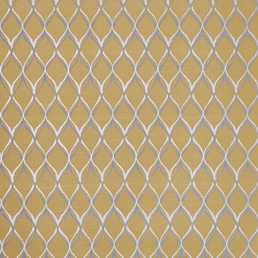 Mystique Ochre  58% Polyester/ 42% Cotton  140cm | 30.5cm  Curtaining