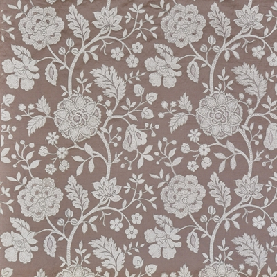 Fabienne Rosemist  44% Cott/ 28% Lin/ 19% Visc/ 9% Poly  141cm (useable 130.5cm) | 77.5cm  Curtaining & Accessories - Embroidered