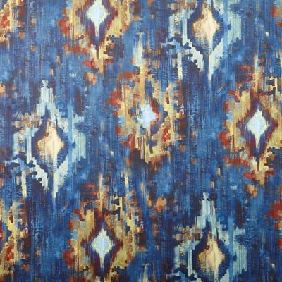Bohemia Sapphire  100% Polyester  139cm | 101.7cm  Dual Purpose 70,000 Rubs  Digitally - printed